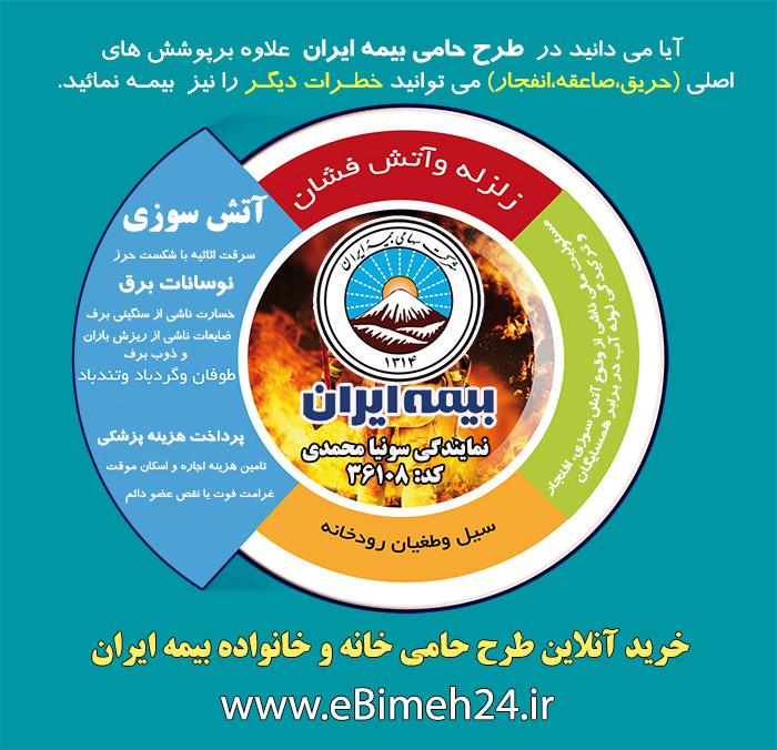 شرایط عمومی و خصوصی بیمه آتش سوزی، صاعقه و انفجار - بیمه ایران